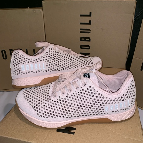 Womens Nobull Suede Blush Trainer New